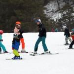 Skikurs Übungshang