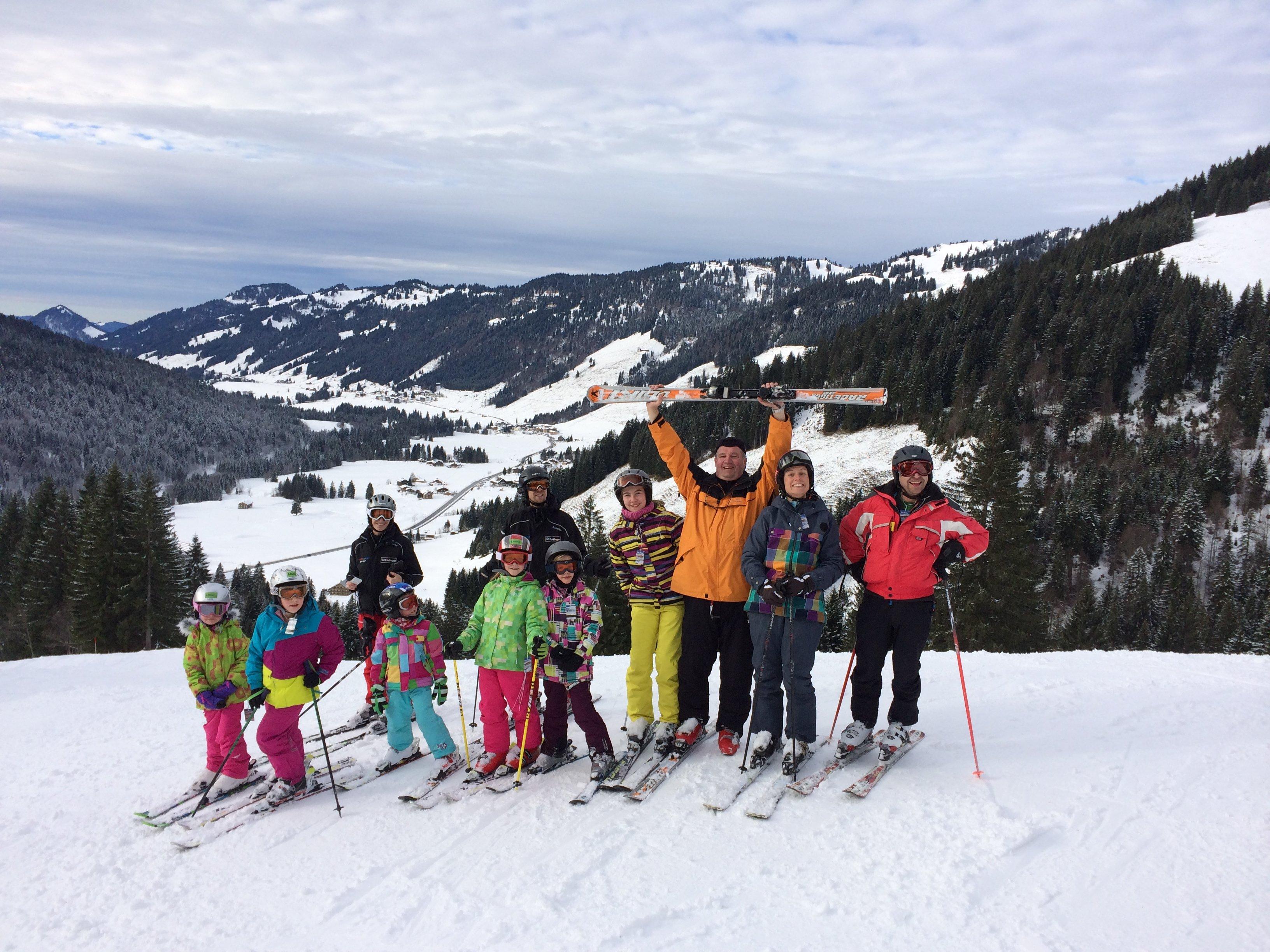Skiausfahrt Balderschwang 2013 - 025 -