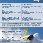 Jugendprogamm Winter 2015-2016