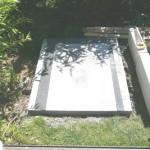 Steinbackofen Bodenplatte