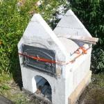 Steinbackofen, Brotbackofen: Aufbau